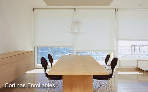 Cortinas enrollables cortinas decoracion enrollables - Tipos de cortinas y estores ...