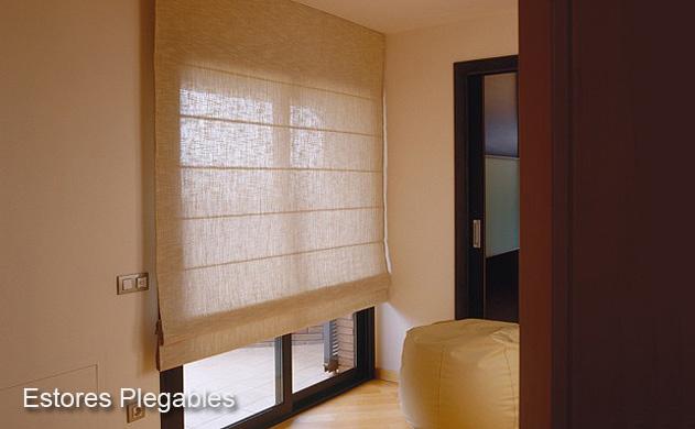 Estores plegables estores plisados estores paquetto - Todo cortinas y estores ...