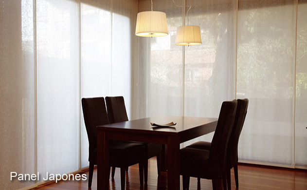 Panel japones salones panel japones deslisantes precios - Fotos panel japones ...
